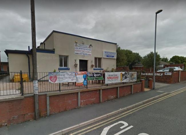 Whitefield Conservative Club, Elms Street, where the P&W Probus Club hosts its meetings. Photo: Google Maps