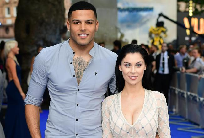 Luis Morrison and ex-girlfriend Cally-Jane  back in 2017