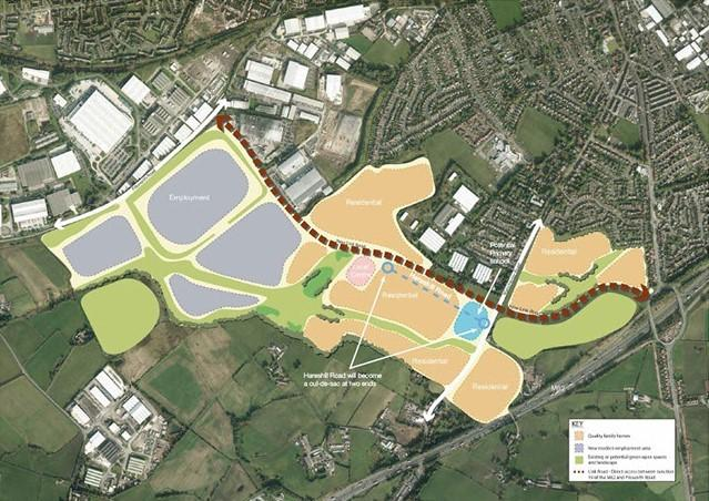 New Enclave Between Bury And Rochdale Set To Benefit From 9 9m Boost Bury Times