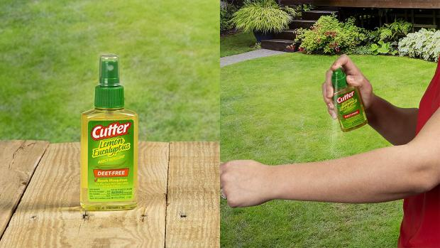 Bury Times: Ditch the horrible smelling insect repellents for one that's fragrant and offers up to six hours of protection. Credit: Cutter