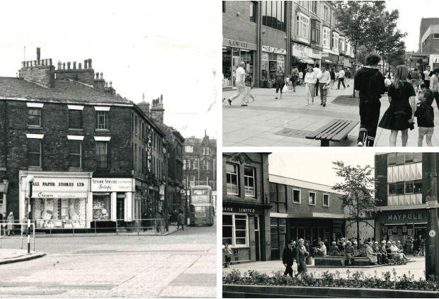 34 pictures of Bury's shopping precincts through the decades