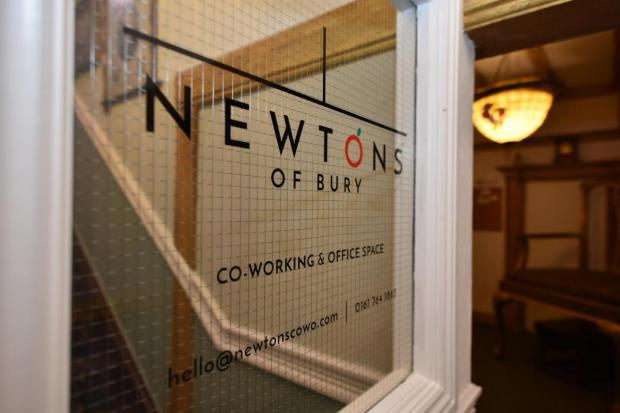 Bury Times: Newton's of Bury co-working and office space on The Rock