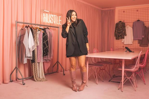 Bury Times: Missguided online clothing brand's head of design, Zee Alwneh, from Bury