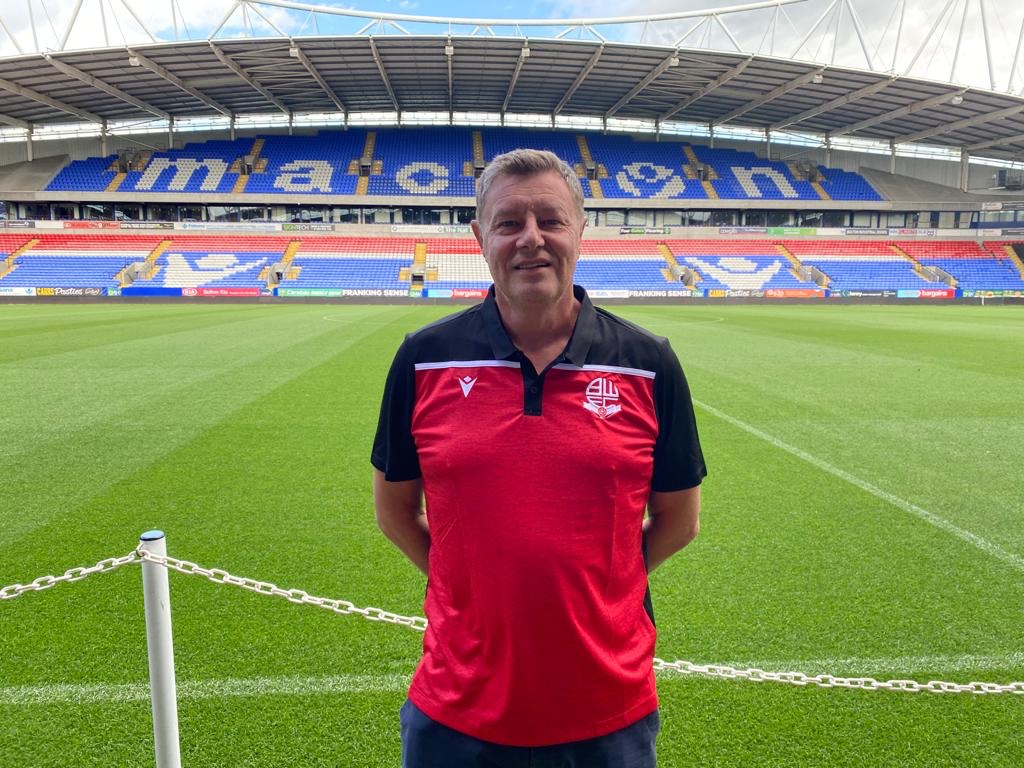Former Bury youth boss appointed as Bolton academy manager