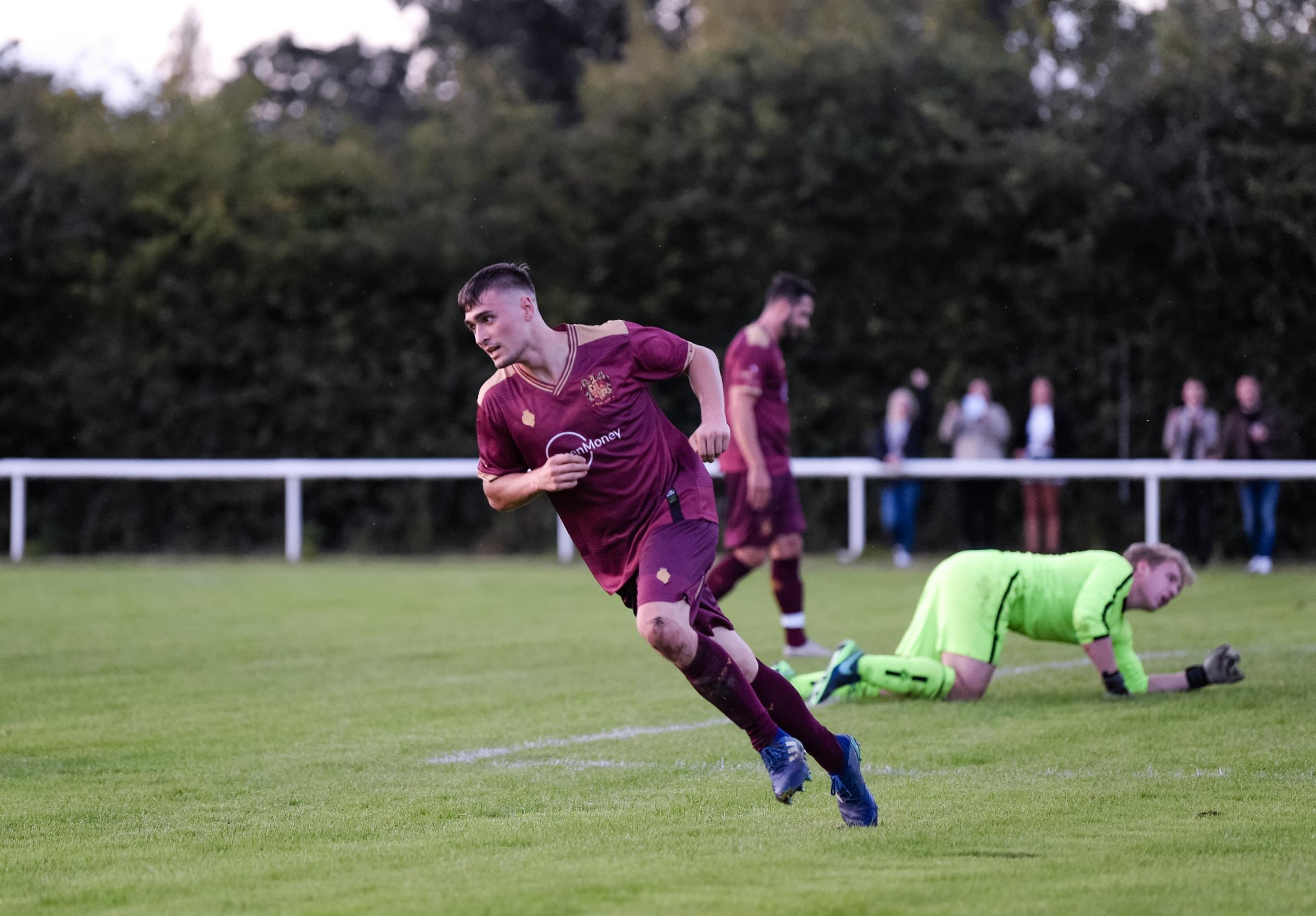 Bury AFC get off to winning start in their first-ever fixture