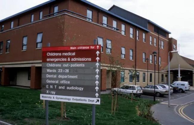 Fairfield General Hospital in Bury