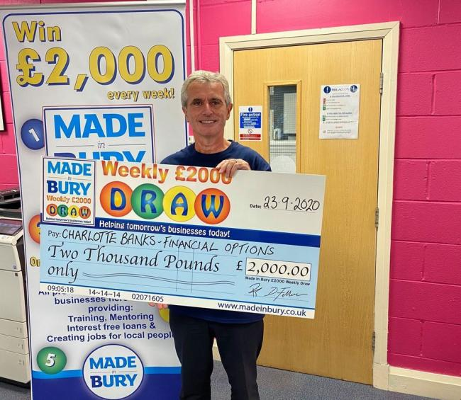 Charlotte Banks was this week's £2,000 draw winner