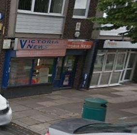 Victoria News on Victoria Avenue in Whitefield (Picture: Google Maps)