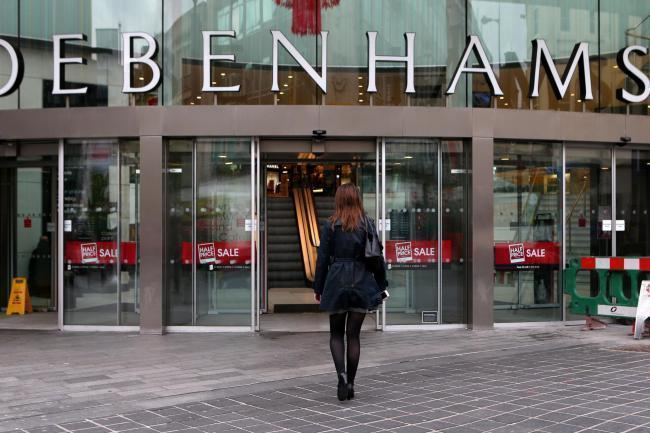 Closing: Bury's The Rock branch of Debenhams looks set to close