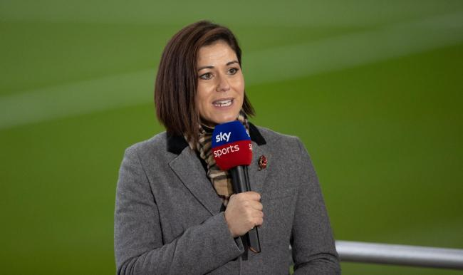 Sky Sports presenter Eilidh Barbour
