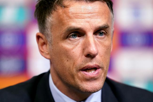 File photo dated 18-02-2020 of England Women Head Coach Phil Neville. PA Photo. Issue date: Friday April 24, 2020. The coronavirus pandemic has caused chaos in football. Here the PA news agency looks at the managers who have left their roles during the cr