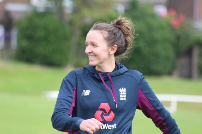 Bury's Kate Cross back in England training. July 2020