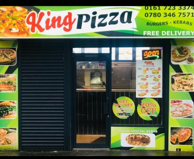 ATTACK: King Pizza in Radcliffe