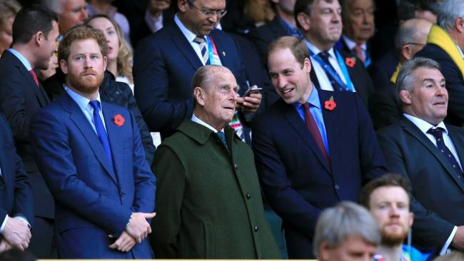 William and Harry will walk apart as they honour grandfather Philip
