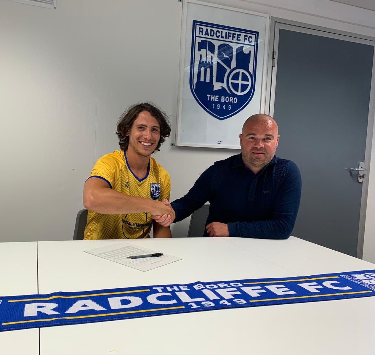 Radcliffe bring former favourite back to club from Warrington