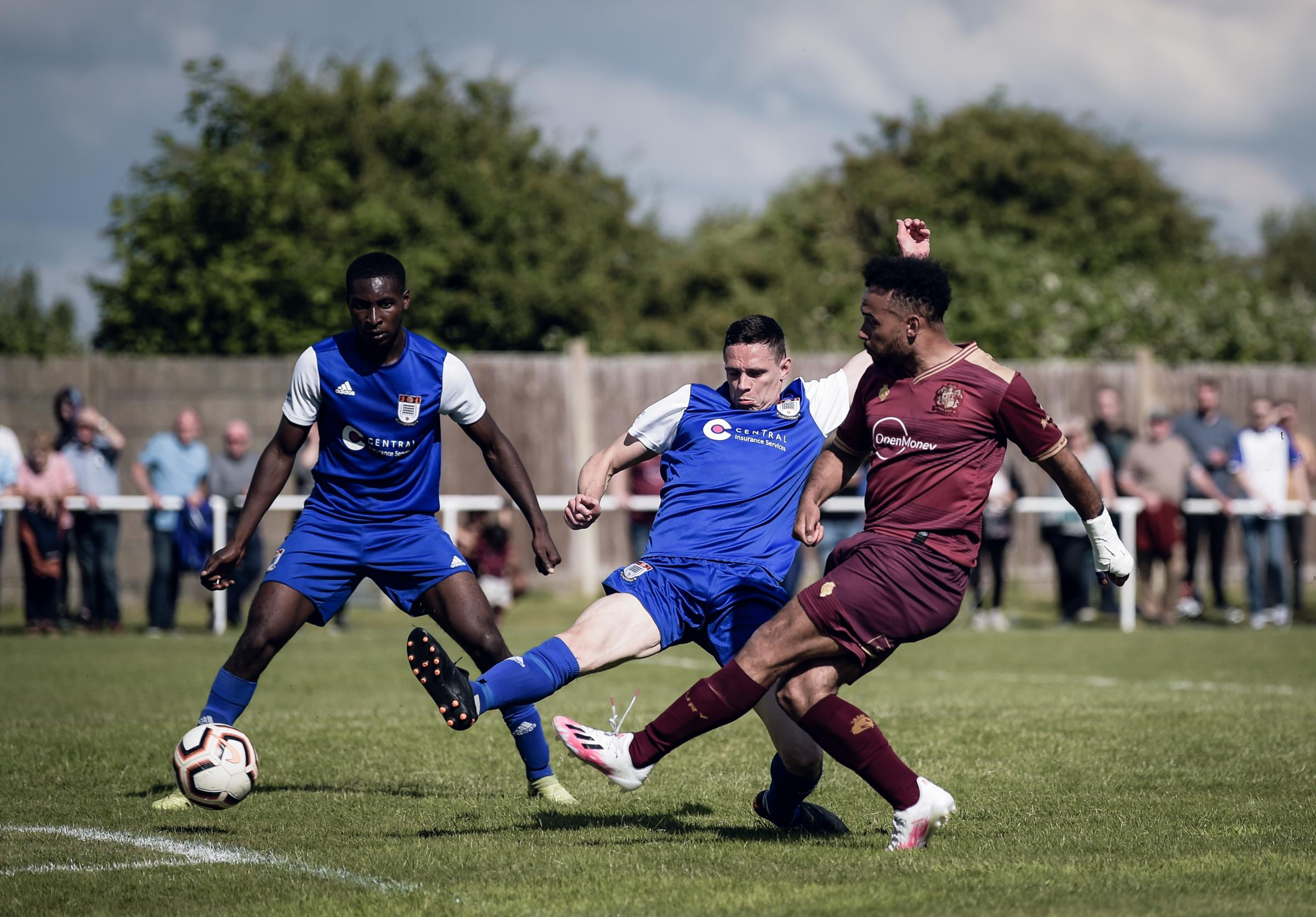 Bury AFC forward knows fight is on for a starting spot
