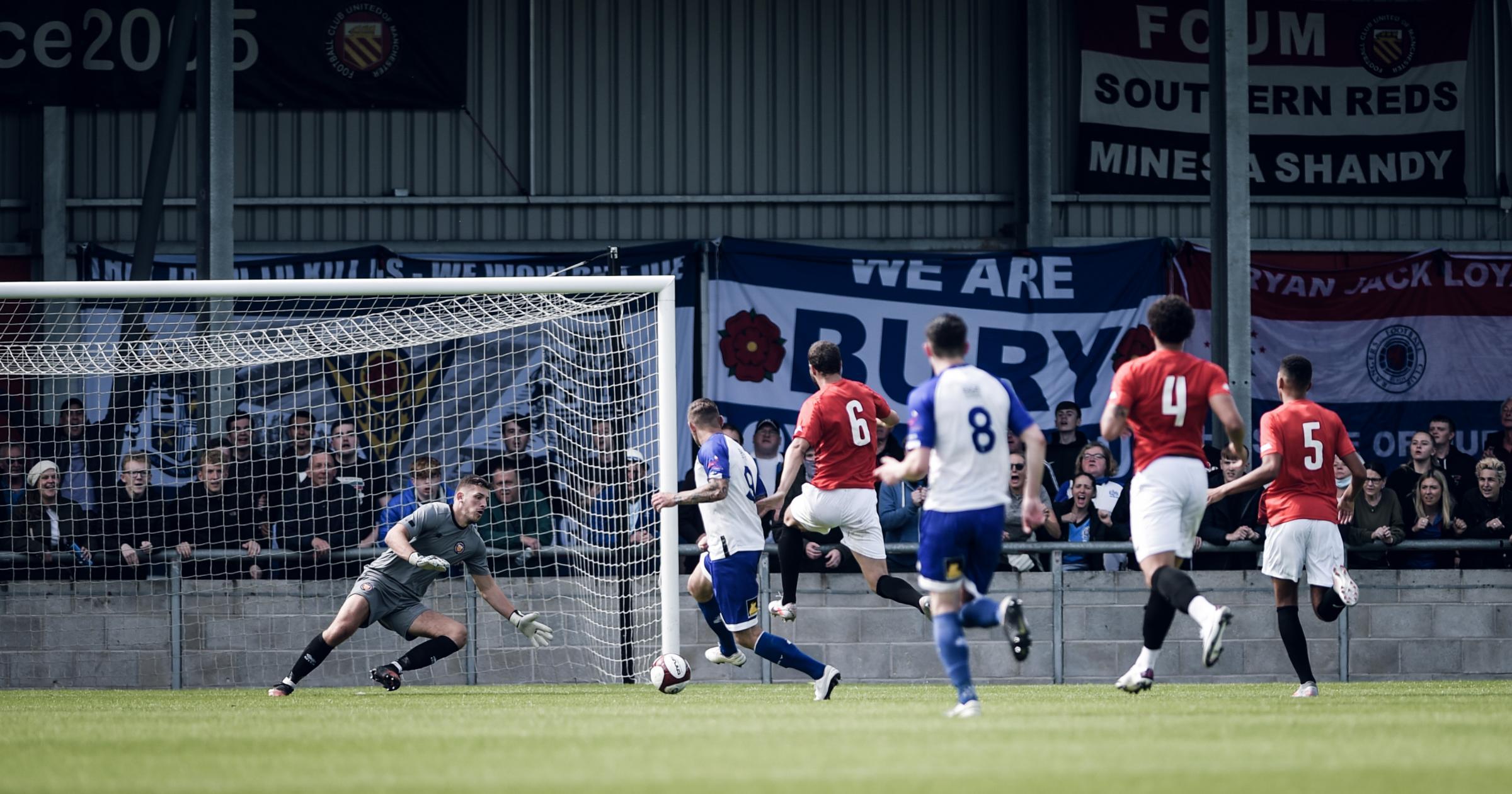 Bury AFC boss on side's pre-season progress after FC United draw