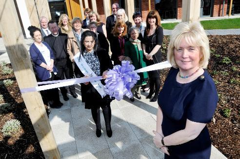 Woman of the Year opens new hospice