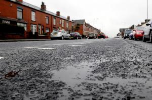 More than £250,000 of taxpayers' cash has been paid out to motorists whose cars were damaged by potholes since 2010