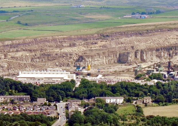 FLETCHER Bank Quarry in Shuttleworth