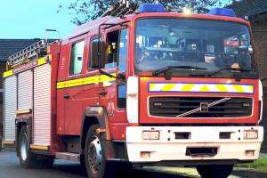 Industrial estate evacuated after paper blaze