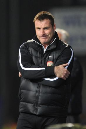 Loan search continues for Bury boss David Flitcroft