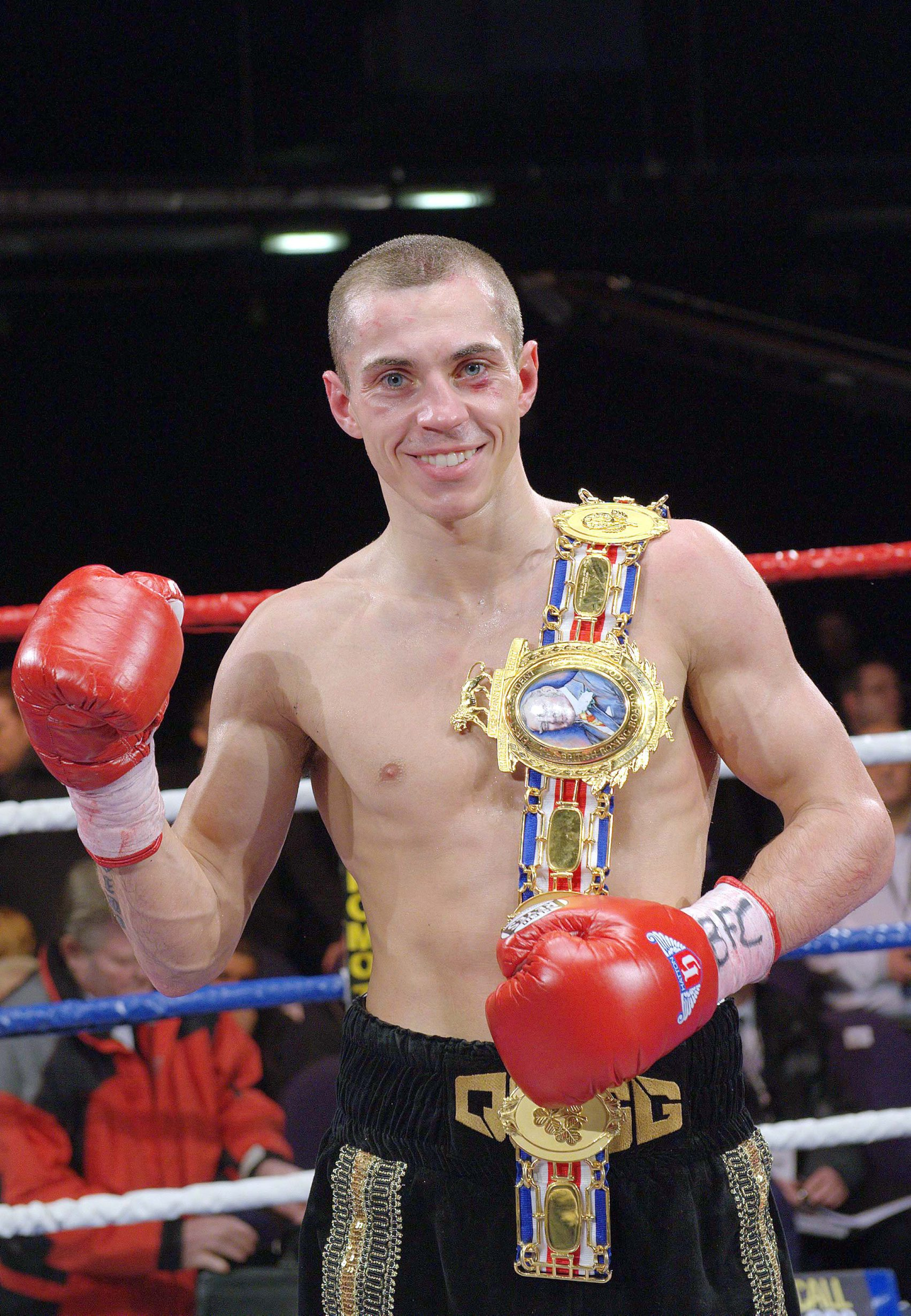 Bury boxer Scott Quigg