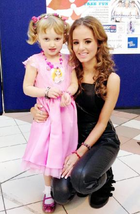 Annabelle is a big fan of Emilia, who is aiming to help her raise funds