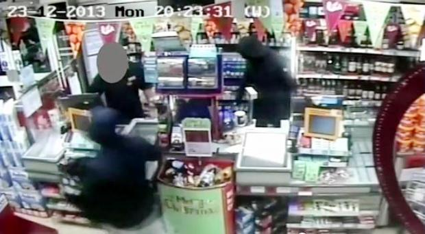 CCTV: The Over Hulton robbery captured on video
