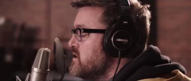 Guy Garvey in the new Elbow video for Fly Boy Blue/Lunette