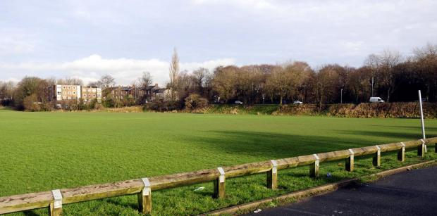 The pitch at Manchester Road, Redvales