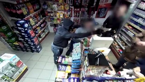 Bury Times: A robber with a gun threatens staff at Bargain Booze in Ramsbottom