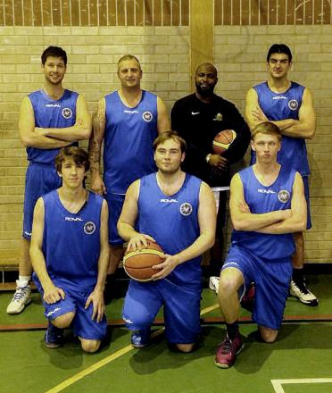 SUCCESS Members of the Mavericks squad are enjoying a good first season in the league