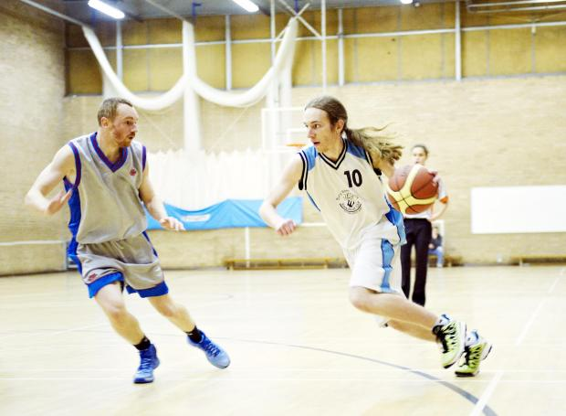 HIGH SCORING Phil Stainton, pictured right, has scored 39 points so far this season