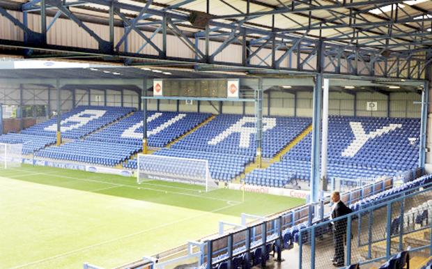 Bury Times: The JD Stadium, formerly known as Gigg Lane