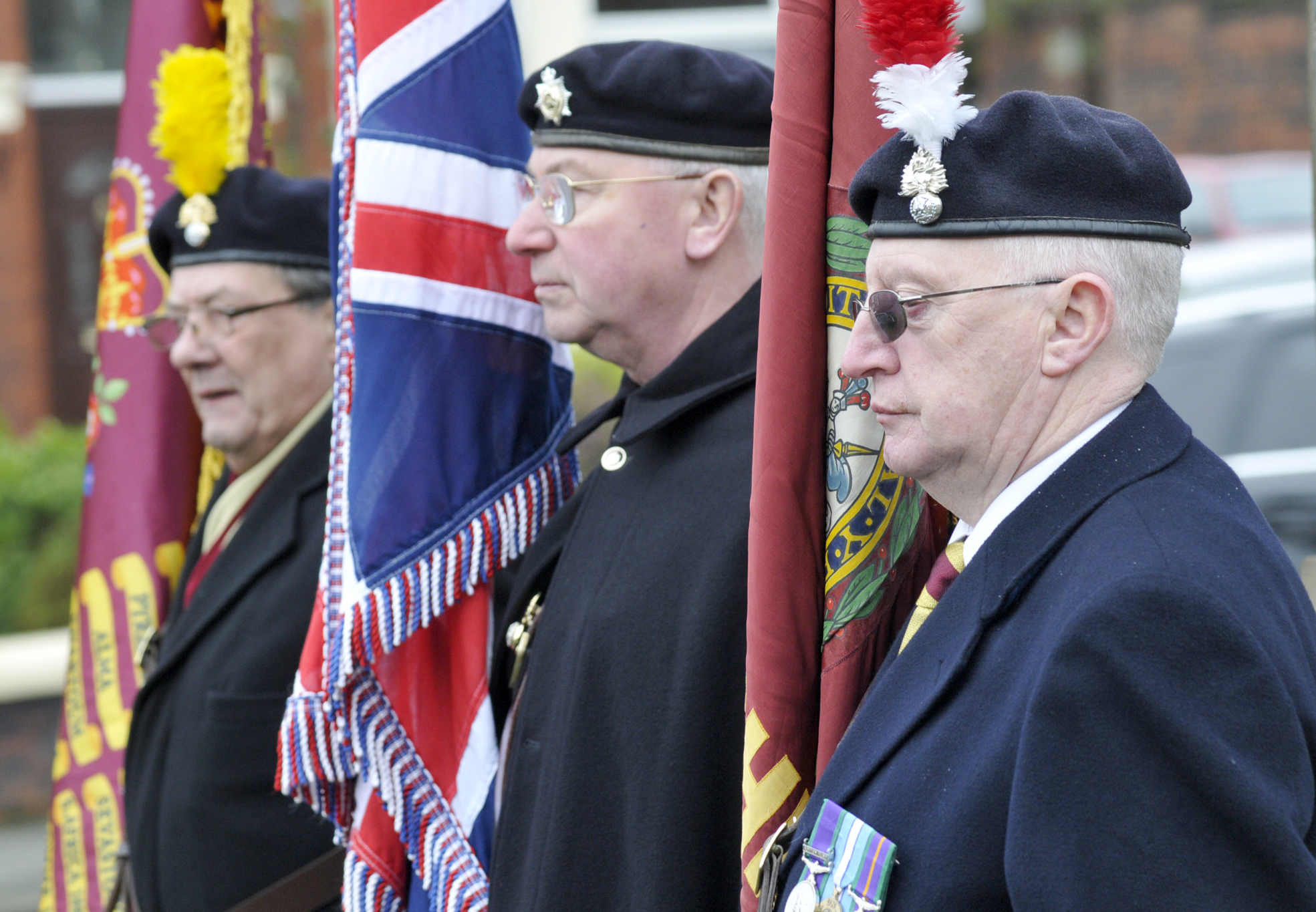 Ex-Fusiliers gather to remember fallen