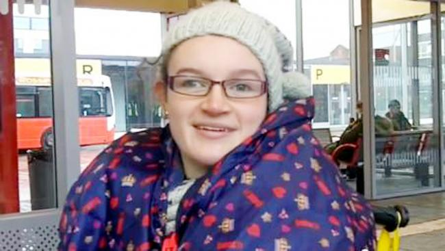 Wheelchair user Emily Riley