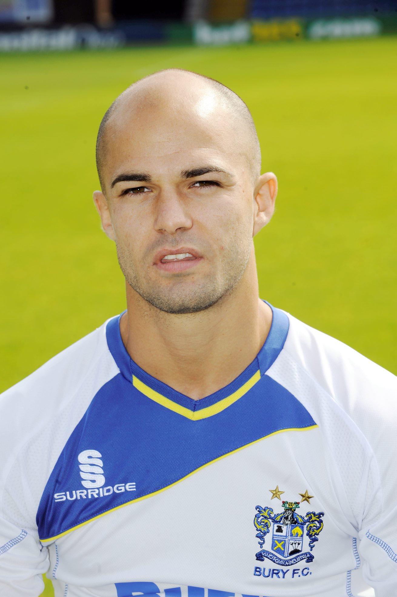 Bury full-back Phil Picken