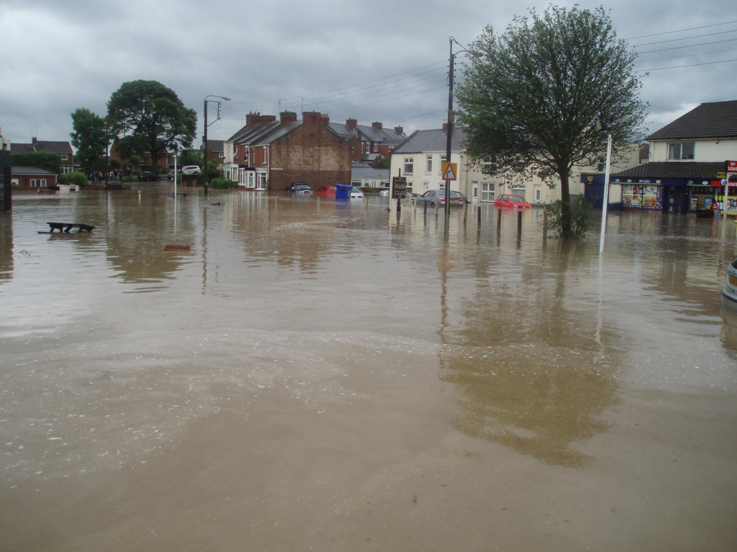 Flooding has caused havoc in the south of England this year