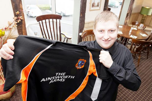 Gary Heaton, manager of the Ainsworth Arms