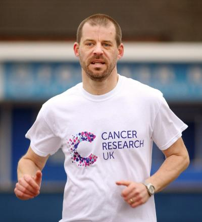 Stuart Farmer will run for Cancer Research UK