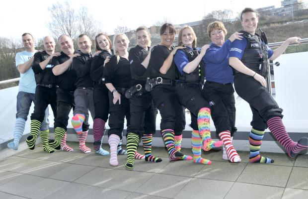 Socks appeal! The Twincess campaign marches on