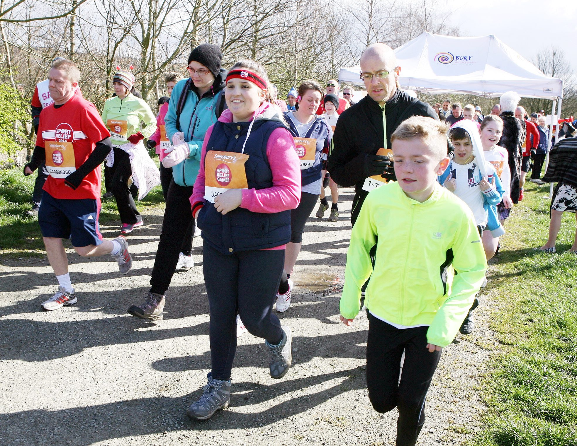 Miles of fun as the schools play a big part in Sport Relief campaign