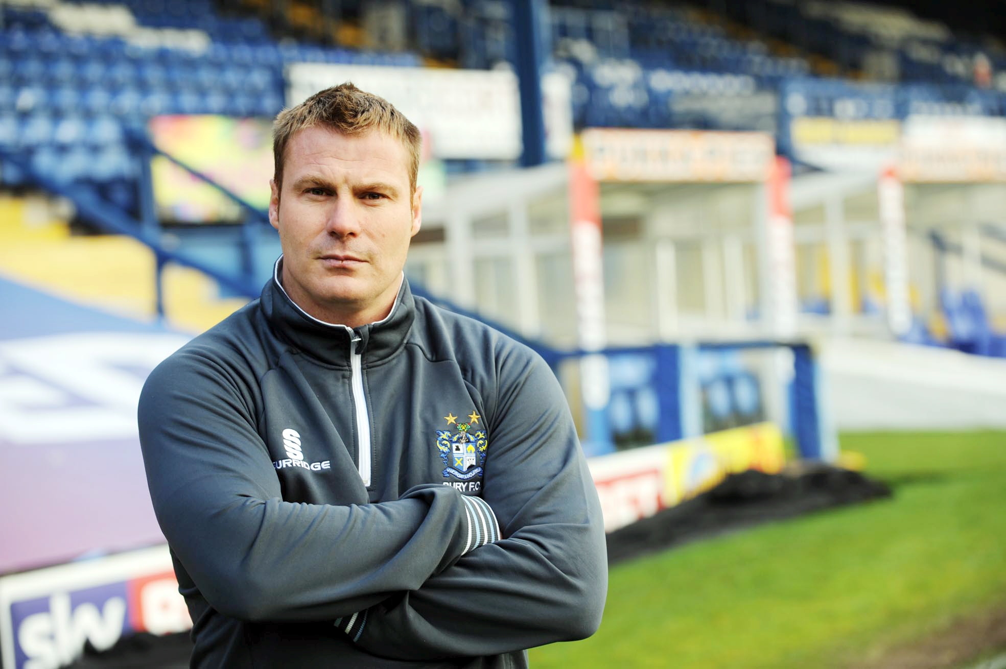 Bury manager David Flitcroft