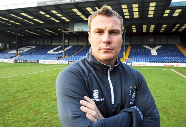 VISION Bury boss David Flitcroft