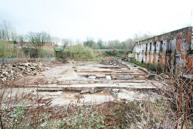 The derelict site in Wellington Street is set for a ravamp
