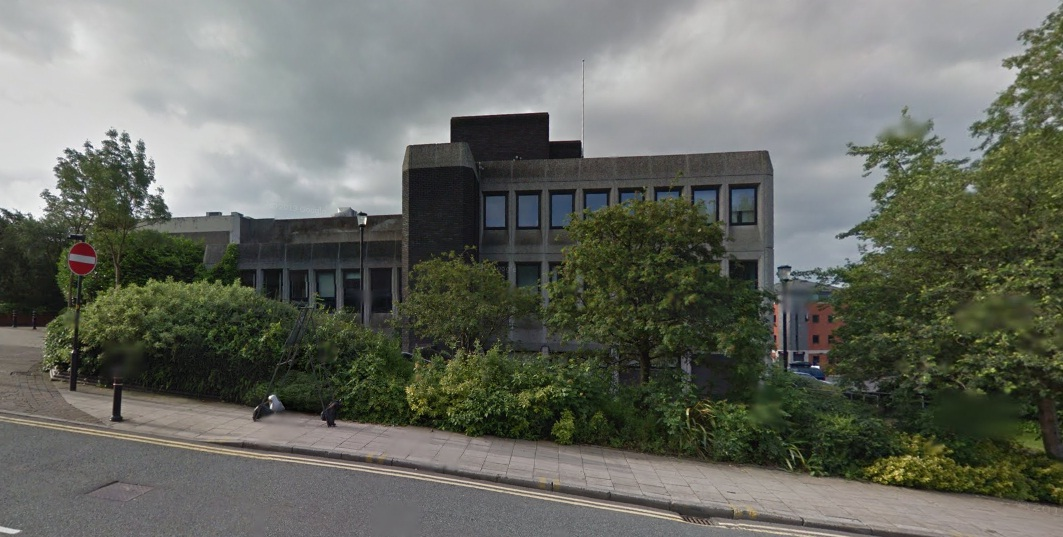 Oldham Magistrates Court. Picture from Google Maps.
