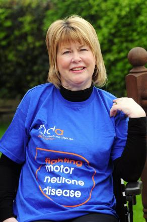 Vivienne Copeland will tackle the Great Manchester Run in a wheelchair