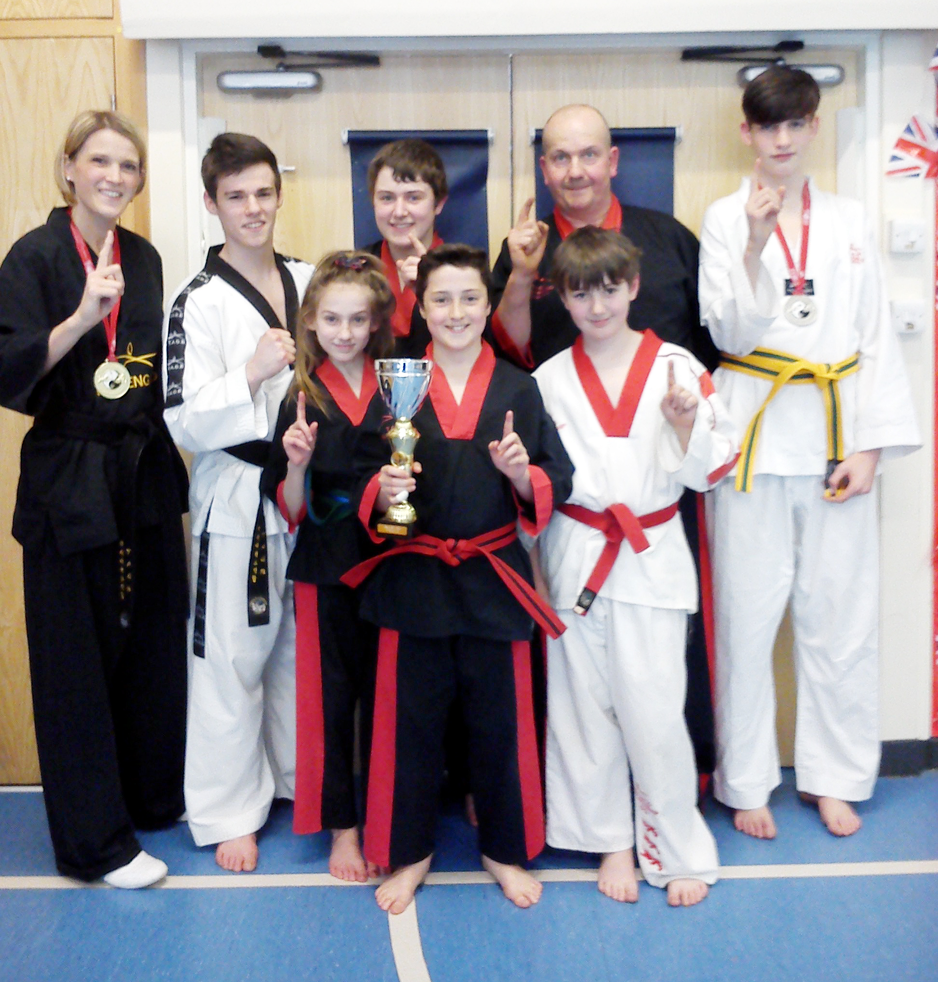 SUCCESS Young stars from Bury TAGB club