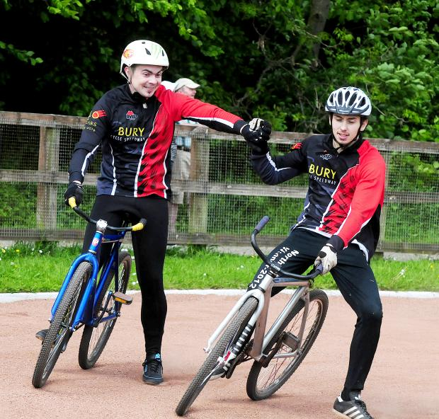 Bury Times: CYCLE SPEEDWAY: Dominant Bury ease to win over local rivals Astley & Tyldesley